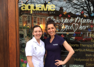 Alison Arden at Aquavie Boutique Spa in Tonbridge