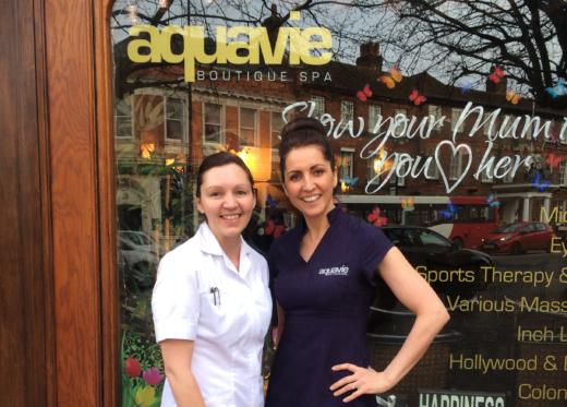 Alison at Aquavie